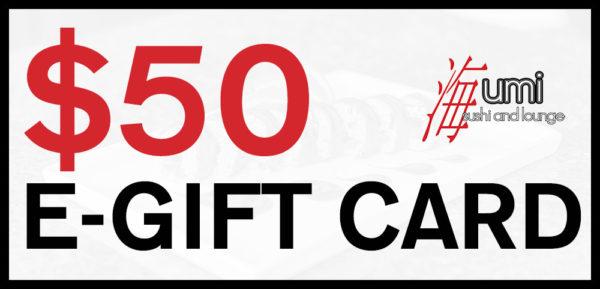 $50 Gift Card 1